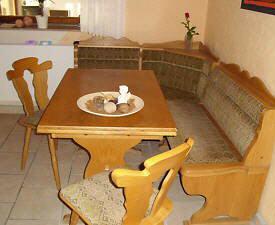 Eckbank rustikal gebraucht  gebrauchte Eckbank Tisch Stühle Eiche rustikal