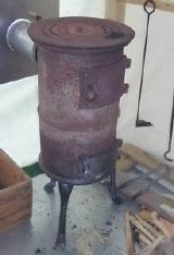 Gebrauchter Gunstiger Holz Kohle Werkstattofen