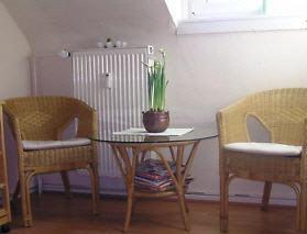 Gebrauchte Stühle Rattan Tisch Stoff Bezug